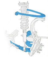 Aluminum Suspension Link Drawing